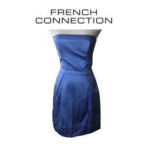French Connection Blue Dress. Sz 2